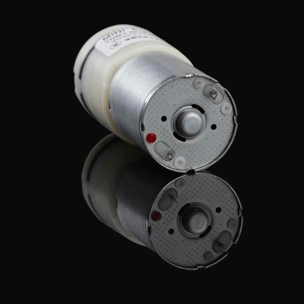 רעש נמוך DC 12 V מיני חשמלי משאבת ואקום 12 V עבור לעיסוי מזון מדפסת ואקום אריזה שד משאבת ויברטור פין