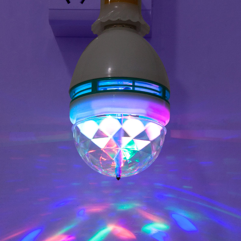 <font><b>LED</b></font> Bulb E27 Colorful 288 KTV Bar Magic Ball Stage Lights Rotating Lights Laser Lights Colorful Magic Ball Lights