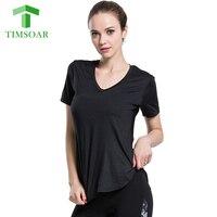 Timsoar Yoga T Shirt Sports Set Women S Autumn Winter Quick Drying Long Sleeve Shorts Loose