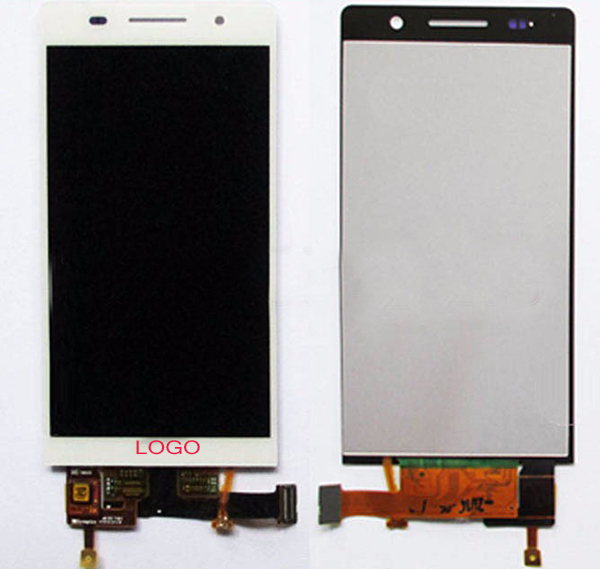 ФОТО Free Shipping Original LCD Display Screen with touch screen digitizer Glass for Huawei P6 Black White With Tracking Number