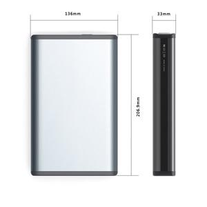 Image 5 - MAXOAK портативное зарядное устройство 50000 мАч 6 выходных портов 12 В/а пост. Тока 20 В/5 А портативное зарядное устройство для ноутбука, планшета, планшетов