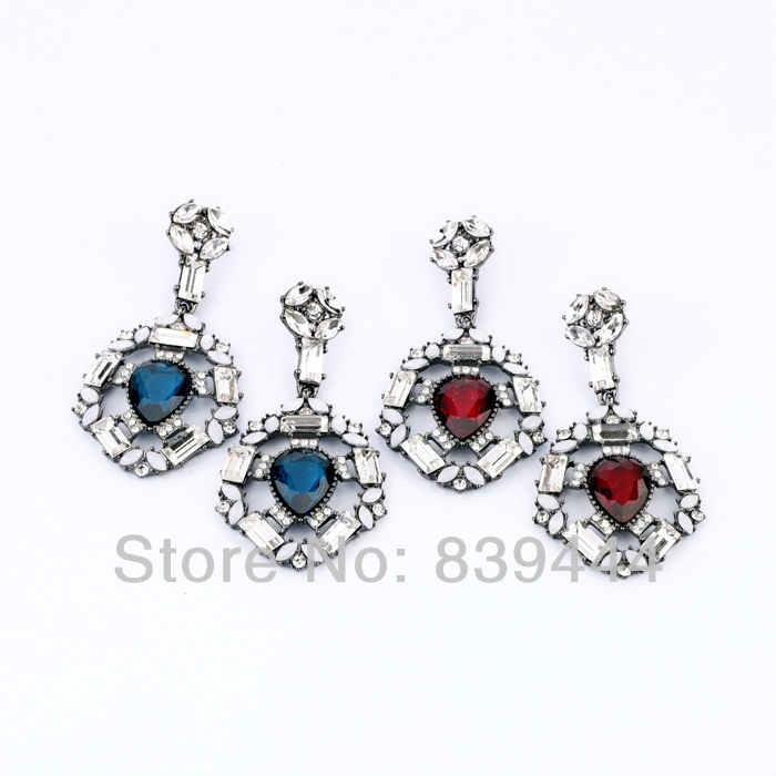 Jewelry & Accessories Hard-Working Factory Sales Jewelry New Fashion Classic Moonstone Big Earrings