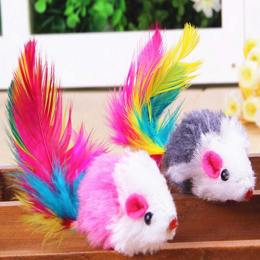 5 adet rastgele renk hayvan pembe doldurulmuş fare oyuncak yaratıcı sevgilisi doğum günü çocuk hediye sevimli karikatür yumuşak oyuncak