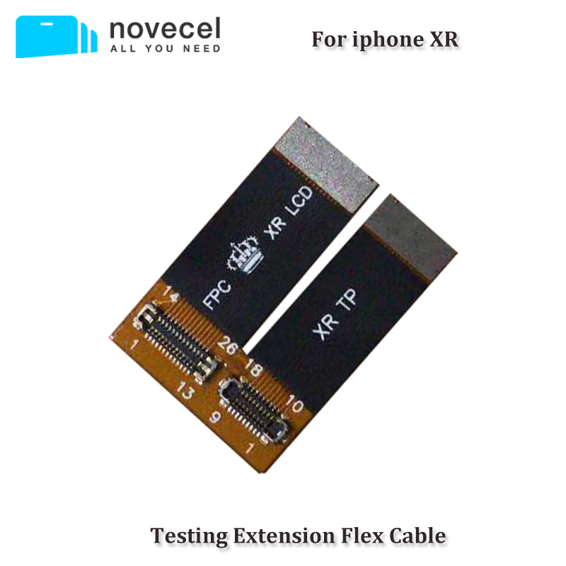 Novecel LCD Screen Digitizer Testing Extension Flex Cable Ribbon for iPhone XR