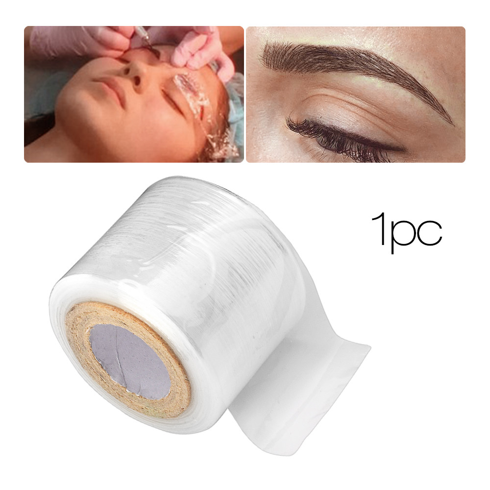 1PC Tattoo Accessory Makeup Supplies Eyebrow Film Liner Makeup Wrap Plastic Preservative Maquillage permanent Accessoies in Tattoo accesories from Beauty Health