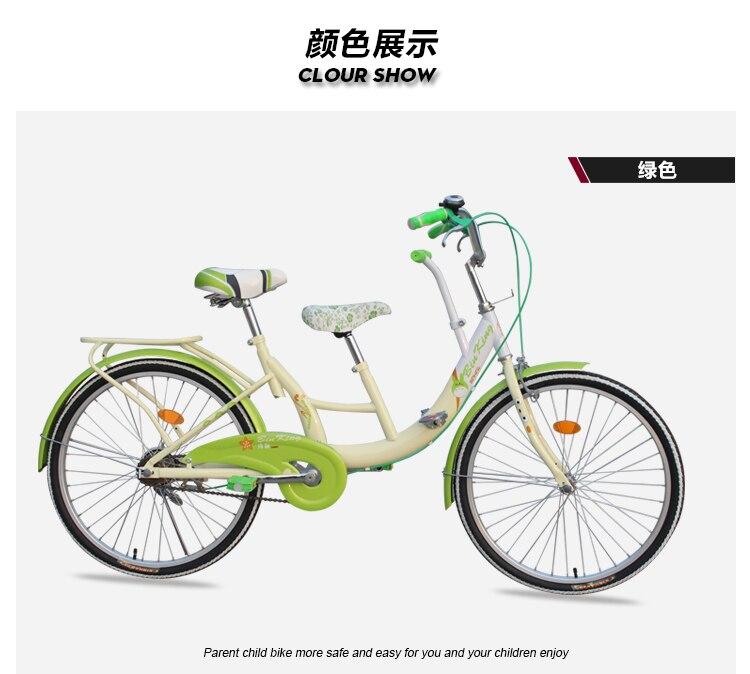 Uomini E Donne Con I Bambini Scegliere Un Tandem Bicicletta In
