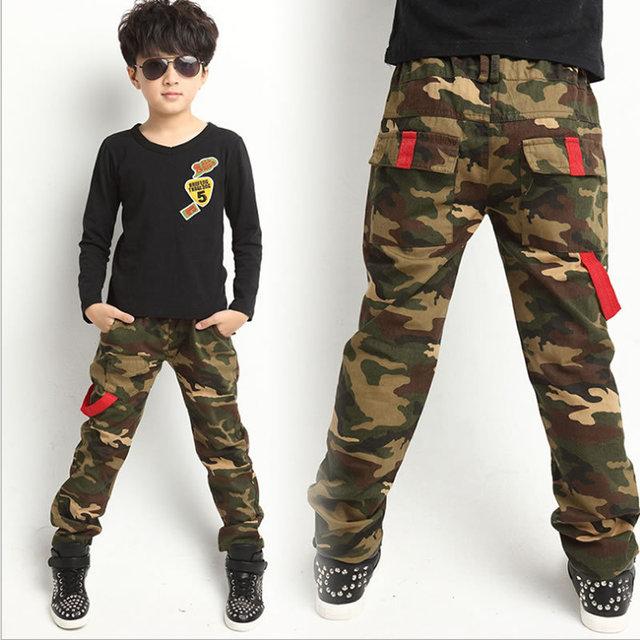 44ac14cf57 US $23.18 |Sale New 2015 Spring Jeans For Boy Camouflage Baby Boys Jeans  Pants Designer Kids Jean Children's Elastic Waist Denim Long Pants-in Pants  ...