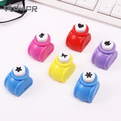 1PC Mini Scrapbook Puncher Handmade Cutter Card Craft Calico Printing Flower Paper Craft Punch Hole Shape DIY Tool Hole Punch