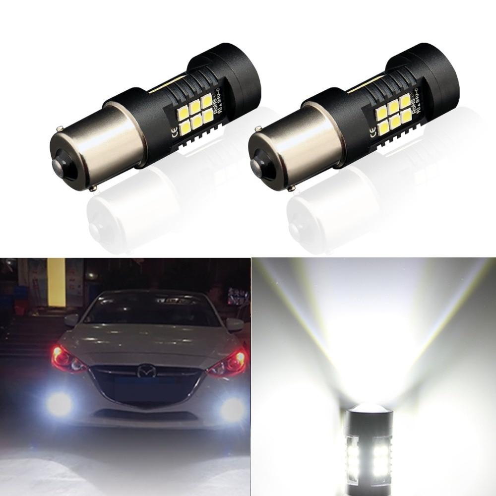 HTB1h.dFXb3nBKNjSZFMq6yUSFXa0 2Pcs 1156 BA15S P21W LED BAU15S PY21W BAY15D LED Bulb 1157 P21/5W R5W 21pcs 3030SMD Auto Lamp Bulbs Car LED Light 12V - 24V