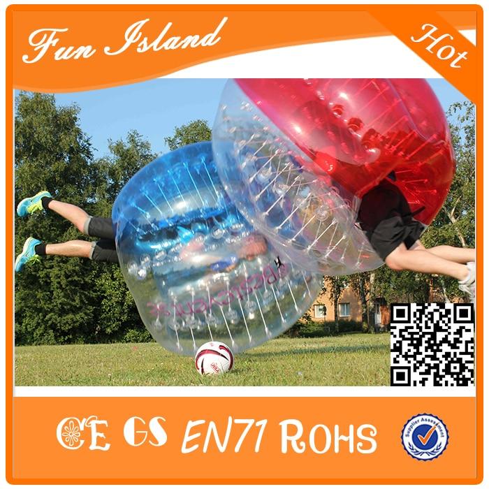 Llongau am ddim Colorful 1.2m Pêl-droed Swigod TPU Theganau Teganau Ball Zorb, Chwaraeon Theganau Pêl-droed Swigod, Crazy Loopy Ball
