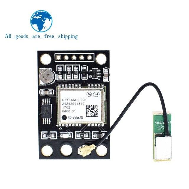 TZT GY-NEO6MV2 NEO-6M gps модуль NEO6MV2 с Flight Управление EEPROM Управление Лер MWC APM2 APM2.5 большой антенны для Arduino совета