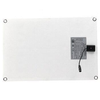 20W 12V 5V DC Waterproof Battery Solar Panel 4