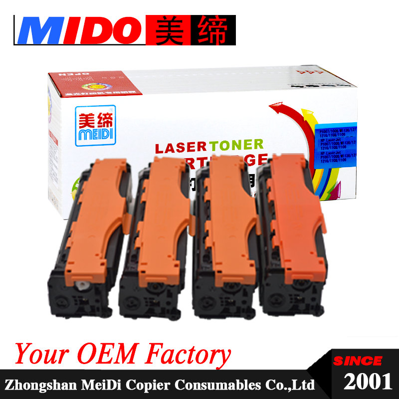 CE410A CE411A CE412A CE413A toner cartridge <font><b>305A</b></font> for PRO 300 400 M351 M451 M375 M475 image