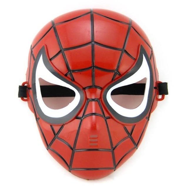 Full Head Mask Super Hero Hulk/American Captain/Iron Man/Spiderman/Batman Crazy Halloween Costume Masks Children Gifts 3