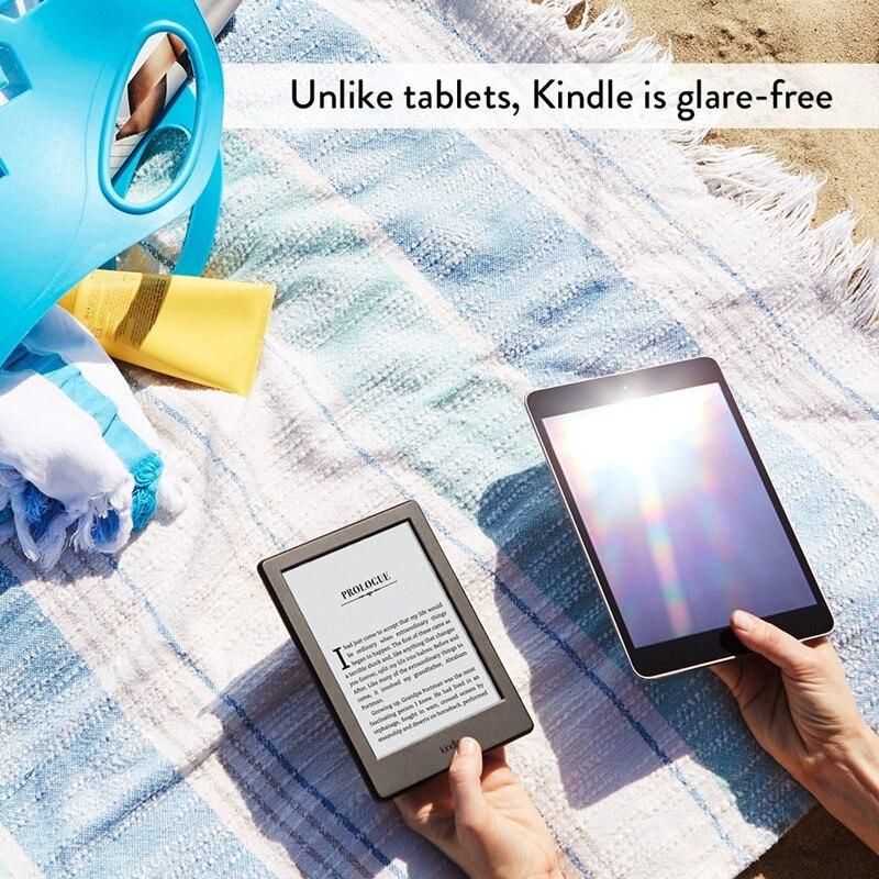 Kindle White 2016 version écran tactile, logiciel Kindle exclusif, Wi-Fi 4 GB eBook e-ink écran 6 pouces lecteurs de livres électroniques - 5