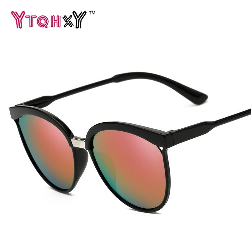 Unisex 2016 Brand Designer Men WomenSuperstar font b Sunglasses b font Round PC Frame Steampunk font