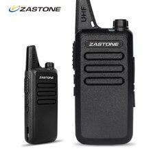 Zastone ZT-X6 Мини Walkie Talkie с Гарнитурой 400-470 МГц Частота UHF Ручной Радио Домофон Двухстороннее Радио Безопасности оборудование