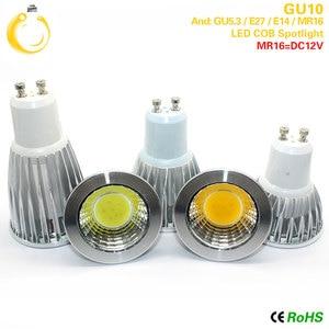 Image 3 - COB led spotlight 9W 12W 15W led lights E27 E14 GU10 GU5.3 220V MR16 12V Cob led bulb Warm White Cold White lampada led lamp
