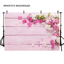 Photography backdrops Flowers and wood flooring photophone background picture backgrounds for photo studio props LV-202 10x16ft backgrounds newborn props and backdrops flower photography background baby for photo studio s140