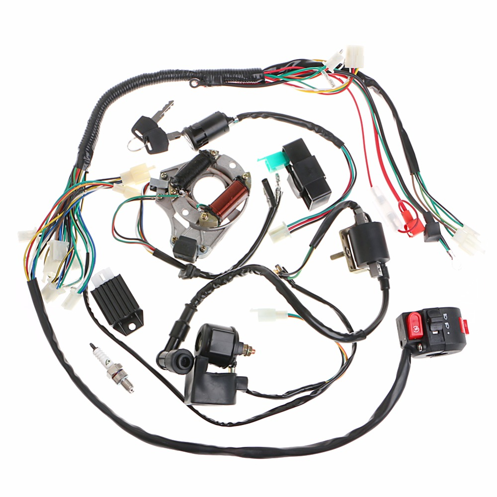 50/70/90/110CC CDI Wire Harness Assembly Wiring Set ATV Electric Quad  Coolster C45-in Motorcycle Starter from Automobiles & Motorcycles on  Aliexpress.com ...