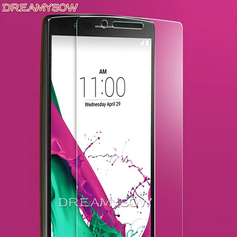 HD 9H Premium Tempered Glass for LG Q6 D685 V10 G3S G3 Stylus G4 mini beat L90 Single/Dual Sim Screen Protector Protective Film