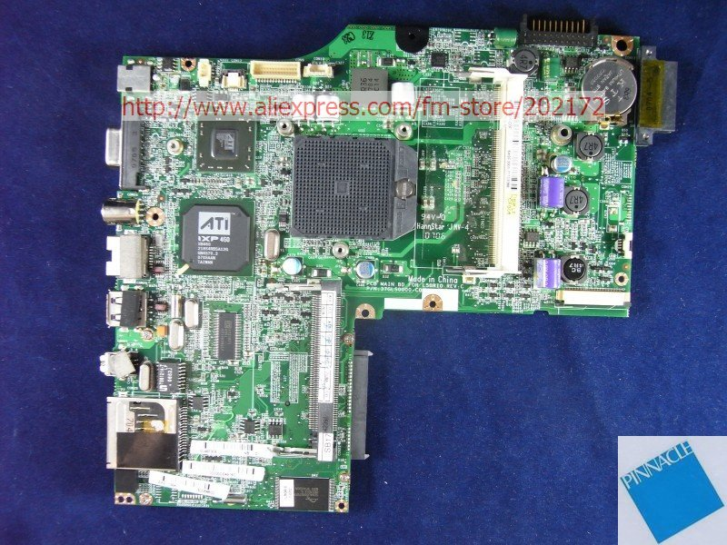 PA1510 Motherboard for Fujitsu SIEMENS Amilo 37GL50000-C0 L50RI0 wzsm new laptop dc power jack for fujitsu siemens amilo m1420 m1425 k7600