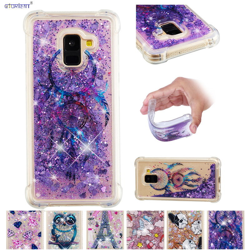Buy Liquid Quicksand For Samsung Galaxy A8 2018 A 8 SM-A530 Case Phone Cover SM-A530F SM-A530F/DS SM A530F A530F/DS Silicone Shell for only 4.69 USD