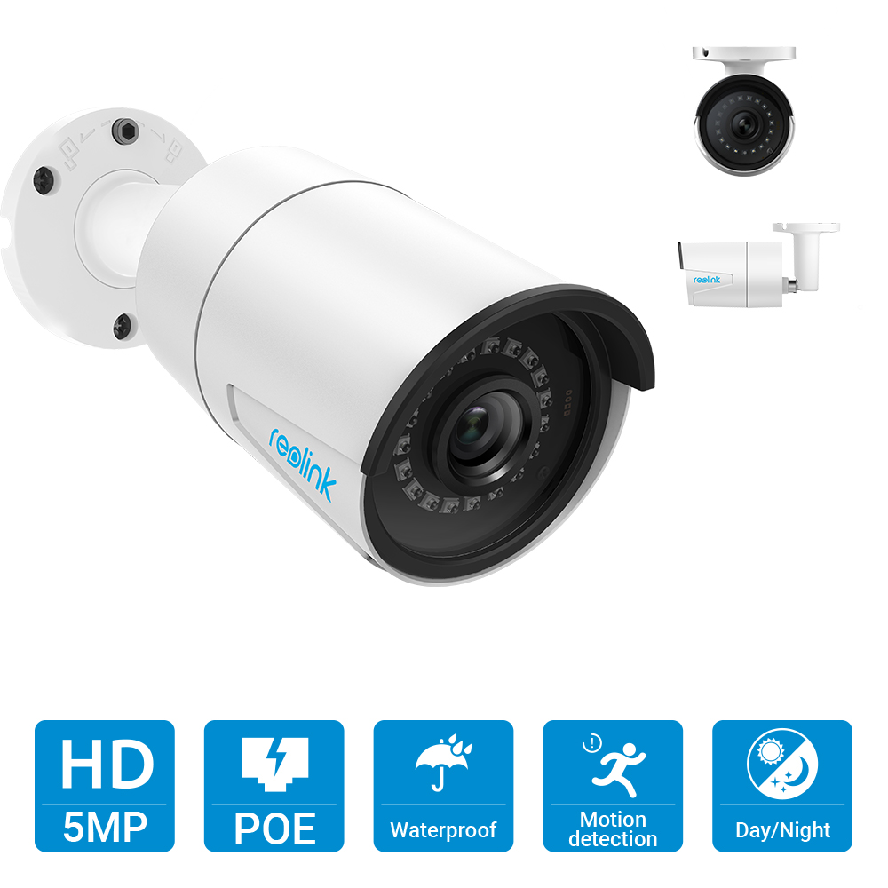Image 2 - Reolink RLK8 410B4 4MP/5MP Camera System 8ch PoE NVR&4 PoE IP Cameras Bullet Outdoor HD Video Surveillance Kit Built in 2TB HDD-in Surveillance System from Security & Protection