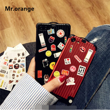 Luggage Phone Case iPhone 6 6splus 7 8 plus X