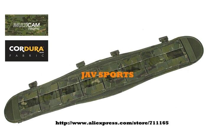 TMC VC Multicam Tropic MOLLE Military Tactical Combat Belt Pad Brokos Belt Pad(SKU12050448) tmc vc style brokos belt genuine multicam padded molle battle belt free shipping sku12050743