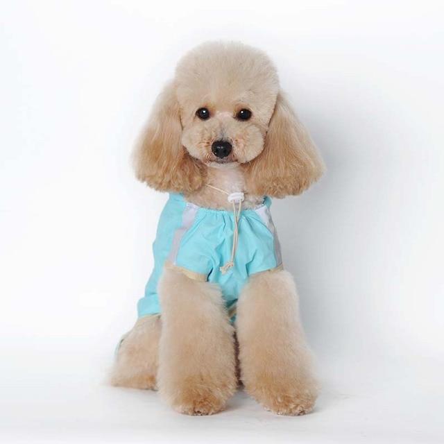 Waterproof Hoody Dog Apparel Acrylon Raincoat Jacket Pet Costume Size S 2XL 3XL 4XL 5XL 6XL 7 XL Hot Selling
