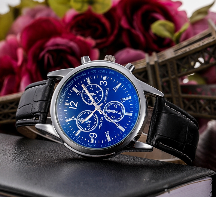 Relogio Masculino Watch Men Luxury Fashion Faux Leather Strap Blue Ray Glass Dial Quartz Watch Casual Males Business Watches luxury brand men watches 2016fashion faux leather men blue ray glass quartzwatches casual males business watch relogio masculino