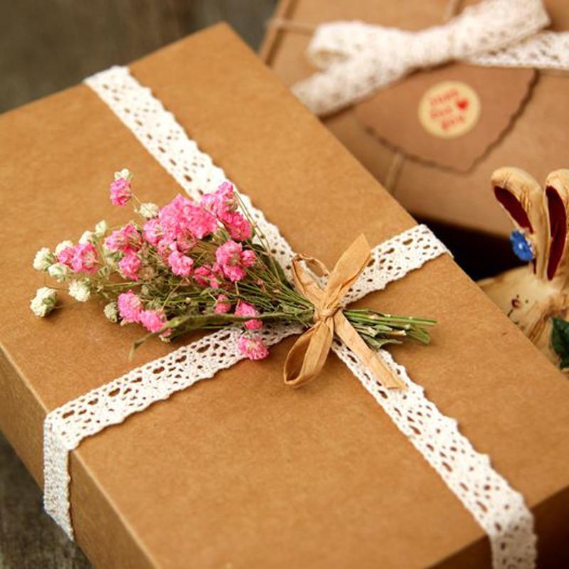 Как упаковать открытку в подарочную бумагу, марта цветная
