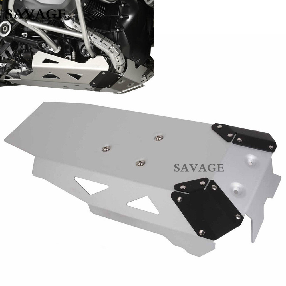 Silver Motorcycle R1200GS Engine Guard Extension Cover Protection For BMW R1200GS LC/ R1200GS 2014 2015 2016 zoomer ruckus fi nps50 engine frame extend extension kit cables silver motorcycle center parts