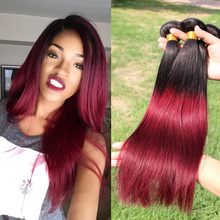 Peruvian Virgin Ombre Hair Straight Ombre Hair Extensions Peruvian Virgin Straight Hair Cheap Human Hair Weave 3 Bundles DS312