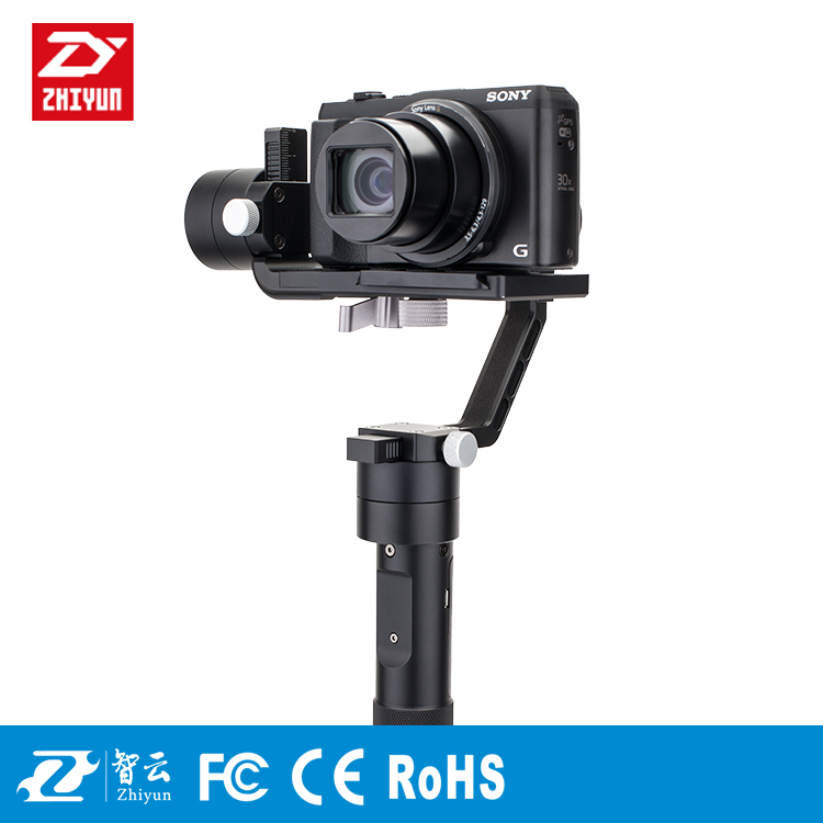 Zhiyun Crane M 3 axis Handheld Stabilizer Gimbal for DSLR Cameras Support 650g Smartphone Gopro 3 Xiaoyi Action camera F19238 latest 2017 version zhiyun crane 3 axis handheld stabilizer gimbal for dslr canon sony a7 cameras load 1800g