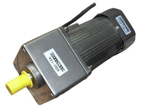 цена на AC 220V 180W Single phase regulated speed motor with gearbox. AC gear motor,