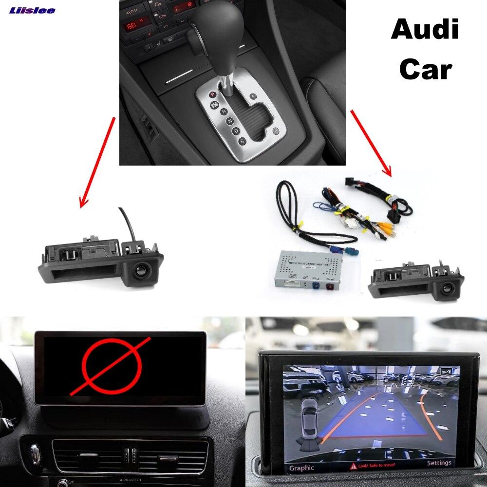 Сзади Камера Интерфейс оригинальный Дисплей обратный резервный улучшена для Audi A3 S3 A4 A5 S5 A6 A7 A8 Q5 Q7 MMI парковка Системы плюс