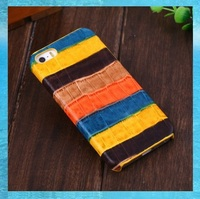 Luxury Genuine Leather Case For IPhone 5S Cell Phone Supreme Crocodile Design Colorful Cover Cases For