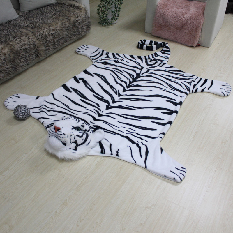 Luxurious Animal Modern Fashionable Rugs And Carpets For Living Room Bed Bathroom Kids Tiger 90cm 150cm New Arrive In Carpet From Home Garden On
