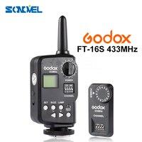 Godox FT 16S 433Mhz Wireless Power Control Flash Trigge Remote Trigger for Godox Ving V850 V860 V850II V860II Speedlite Flash