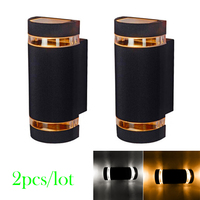 2pcs Lot 8w Led Wall Lamp Light Waterproof Up And Down Side Led Porch Lights Led