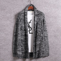 2017 New Fashion Mens Coarse Wool Knitted Cardigan V-neck Men Sweaters Cheap Kintt Sweater Pockets youth man