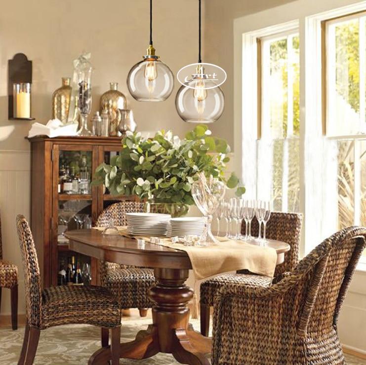 tienda online lmparas de techo modernas edison glass lmpara colgante e v luces colgantes para comedor sala de estar dormitorio lampara with lamparas