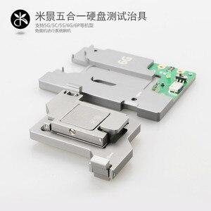 Image 5 - 5 in 1 HDD mantık kurulu onarım sabit disk aracı fikstür test için iphone 5G 5 S 5C 6G 6 P NAND Flash bellek yongası IC anakart
