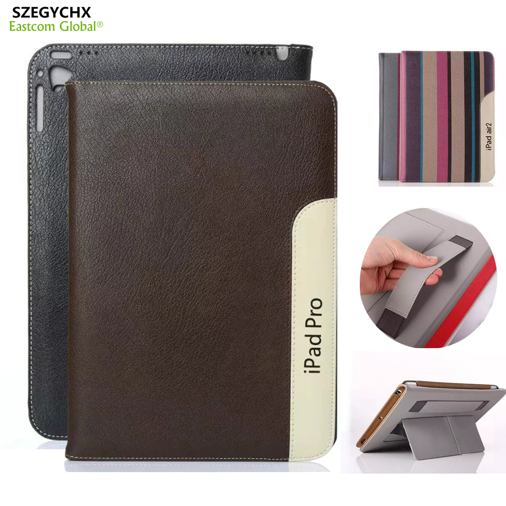 SZEGYCHX Fashion PU Leather Tablet Smart Cover Laptop Case For iPad mini 123 / Air 1 Sleep Wake function Gift Touchsreen pen sd luxury stitching pu leather book case for ipad air 1 auto wake up function smart cover for ipad air1 ipad5 tablet film gift