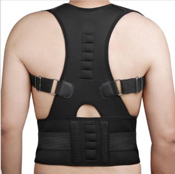 Prix pour Thérapie magnétique Posture Correcteur Brace Épaule Back Support Ceinture pour Hommes Femmes Accolades et Soutient Ceinture Épaule Posture