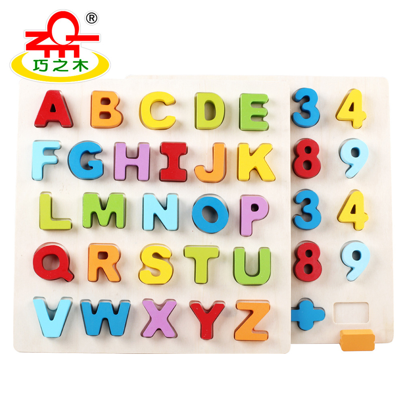 QZM Baby Wooden Early Learning Geometry Educational Toy 3D Jigsaw Puzzle Montessori Teaching Aids Brain Training Toys for Kids hot sale intellectual geometry toys for children montessori early educational building wooden block interesting kids toys