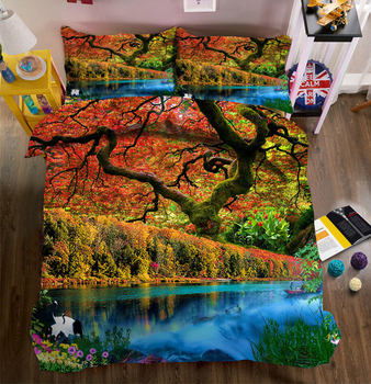 3D bedding sets Twin king Queen bedsheet Pillowcase duvet flat sheet Bed Linen king size housse de couette 200*200 imprim фото