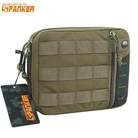 EXCELLENT ELITE SPANKER Hunting Nylon Molle EDC Pouch Outdoor Multi Purpose Tactical Tools Kit Military Solid Waist Zipper Bags